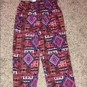 Pants - Woman's Multi Color Pant's
